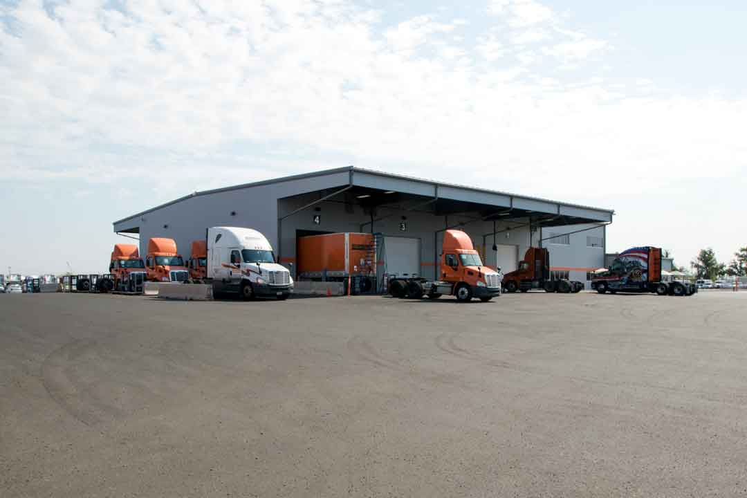 Schneider Trucking | Arizona Corporate Builders, LLC